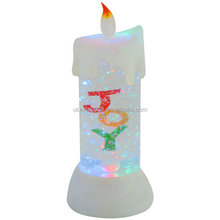 Acrylic led artificial candle light, flameless led candle