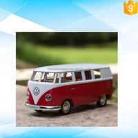 5 inch 1962 TI bus die cast old vintage toy car models