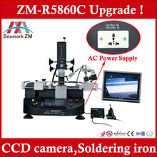 Hot sale bga rework station in india ZM-R5860C with Camera monitor and Equipped with Soldering iron !