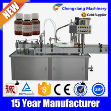 Automatic liquid filling sealing machine, filling and capping machine(CE Certificate)