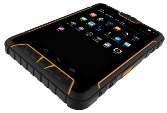 St907 7 polegada Android Rugged Tablet PC 3 G / Bluetooth / GPS / WIFI IP67 robusto Tablet PC Fringer impressão Tablet PC