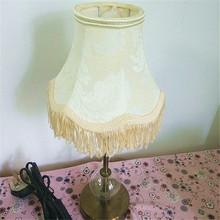 European tassel softback lampshades for pendant light or wall light