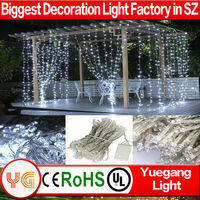 2015 New Hot Christmas decoration 5M*(0.4 0.6 0.8)M led icicle light outdoor led falling icicle lights for holiday decoration