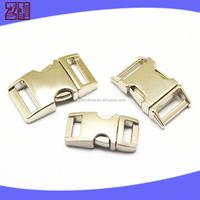metal dog collar buckle, cheap metal curved buckles,metal bag buckle for dog collar