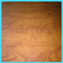 Wood Grain colour coated galvanized steel sheets for wall decorative material