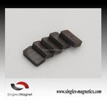 Strong magnet cheap price of magnetic block flexible ferrite fridge magnet for sale