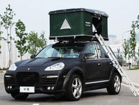 Luxury family camping self-driving hard shell auto roof top tent 4x4 roof tent roof top tent