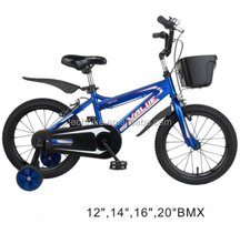 20 INCH BOYS BMX BIKE WITH FOUR WHEELS FOR CHILDREN /SUPPORT 12/14/16 INCH