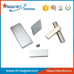 Super Strong Magnet Block Nicuni Coating