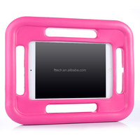 For iPad Air EVA foam silicone cover case, For iPad air tab stand handle cases cover for kids, shockproof back case for iPad