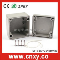 aluminum die cast junction box / aluminum box FA18 (80*78*60mm)