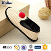 small order quantity straw leisure shoe in new design