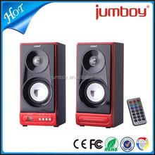 good price USB SD FM radio speaker, desktop 2.0 active speaker