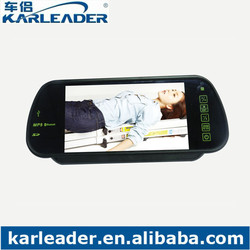 MP5 Bluetooth Car Rearview Mirror Monitor With 7 inch Screen