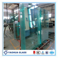 AS/NZS 2208 certificated 12mm 15mm 19mm thick toughened glass good price