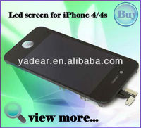 Shenzhen yadear front and back screen protector for iphone 4 4s