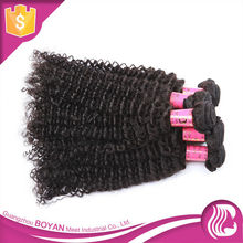 Tight Weaves Cheap Soft Remy Human Hair From Malaysian Afro Curl Hair