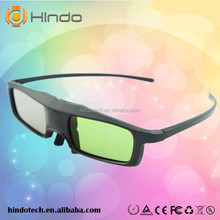 cheap Active Shutter 3D eyewear/glasses support bluetooth signal for Sony/ Samsung/LG/ PANASONIC/3D TV