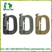 Desert Tan Multipurpose D-Ring Locking for Molle Webbing Tan