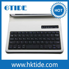 Gtide bluetooth keyboard leather case for apple ipad 6 2014 new products on market