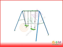 hot sale two seat swing set for outdoor