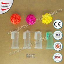 wholesale rounded bristle toothbrush finger toothbrush disposable for adults