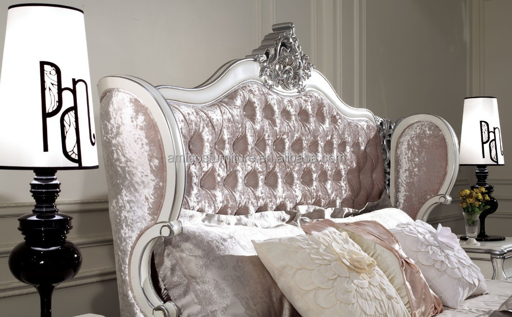 French Bedroom Furniture Set Italian Classic Luxury Adult