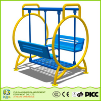 Factory Direct China Face To Face Swing Outdoor Furniture Swings For Adults