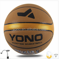 Custom print wholesale PU basketball for match high quality ball