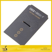 Sinicline High Quality Made Button Bags Hang Tags for Clothing