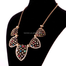 china new desing Fan necklace jewelry for elegante girls