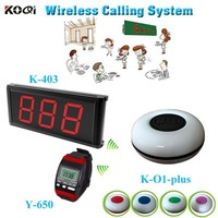 Food Account Call System New Arrival Restaurant Waiter Buzzer Pager Service Equipment