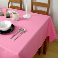 Colorful tablecloth Wedding supplies round table cloth pink table cover