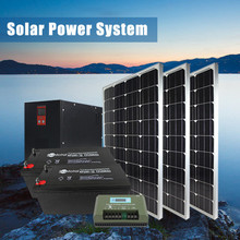 Green Ac/Dc Output Portable Panel 10kw Home Power Cell Solar Energy System