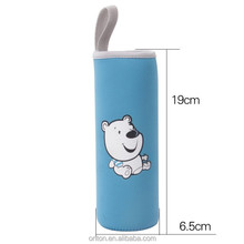 Hot sales 3mm thick neoprene cup sleeve with loop