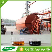 Used Tyre To Fuel Oil Pyrolysis Machine For Sale