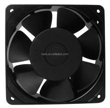 air exhaust fan brushless ball/sleeve bearing fan 12v