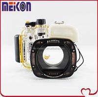 Meikon underwater diving waterproof camera case for Canon G15, ,waterproof/dustproof/shockproof underwater housings
