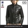 Nova Washed PU jaqueta jaqueta de moto couro moda para homens