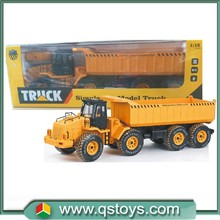 2015 new 1:18 scale 6 channel rc toy truck,loader truck,mobile machinery shop