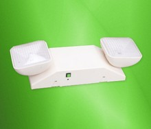Rechargeable wall mounting LED Emergency light with two light