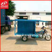 China Heavy Duty 175CC Cargo Truck Tricycle Using Enclosed Cargo Cabin