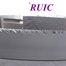 Bi-metal band saw blade made by alloy which contain cobalt