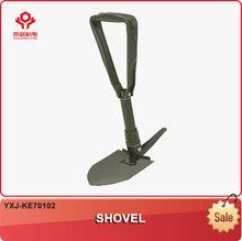 YXJ-KE70102-XVAG19 Plantation practical tools gardening small implement steel material folding shovel