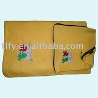 Travel set/blanket pillow set FY0050