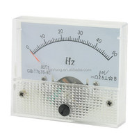 85C1 DC 10V 0-50Hz Testing Range Panel Analog Frequency Meter