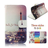 low moq cheap price wallet flip cover for sony z3 mini