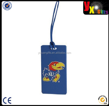 Kansas Jayhawks PVC Luggage Tag - Royal Blue