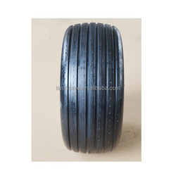 "zero turn mower air free hollow rubber tire 13""X5.00""-6 rib"