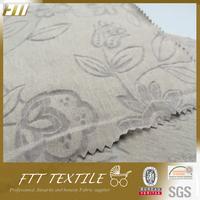 Cotton Polyester Knit Cap Burnout Fabric